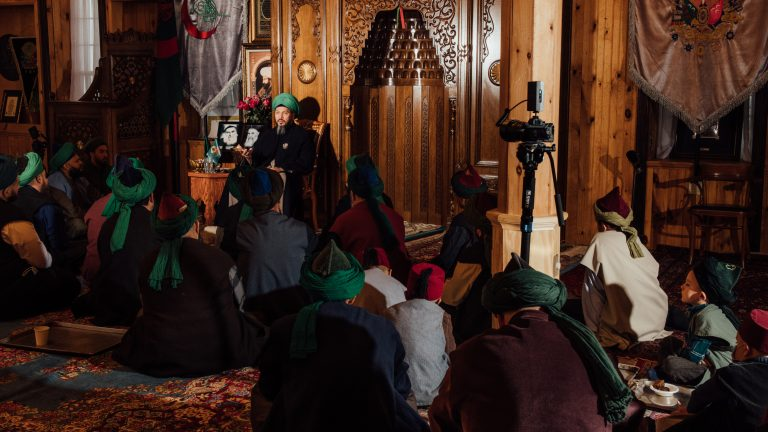 January 22, 2021: The Friday sermon was recorded and broadcasted live from Osmanli Nakshibendi Dergahi in Sidney Center, NY. George Etheredge for Rest of World
