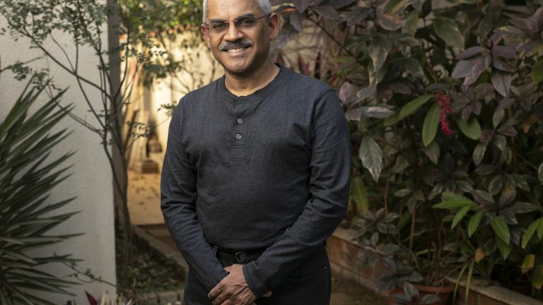 Sanjay Swamy, an entrepreneur, venture capitalist, and one of ZipDial's founders, at his home in Bangalore.
