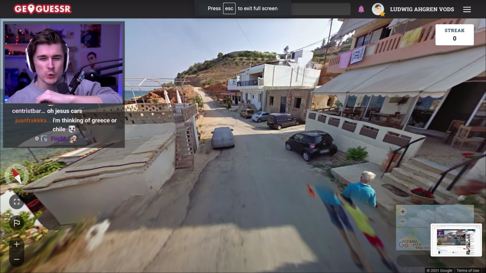 Zanzibar's project to put itself on Google Street View has angered a legion of European video game streamers