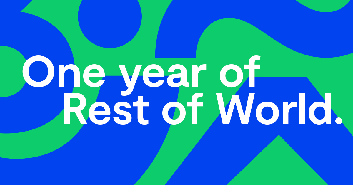 One year of Rest of World