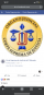 Facebook profile picture of El Salvador's Supreme Court before May 2, 2021.