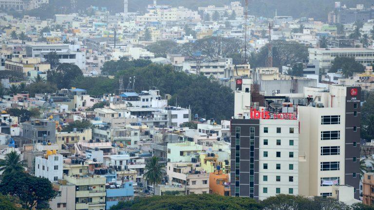View of Bangalore, India
