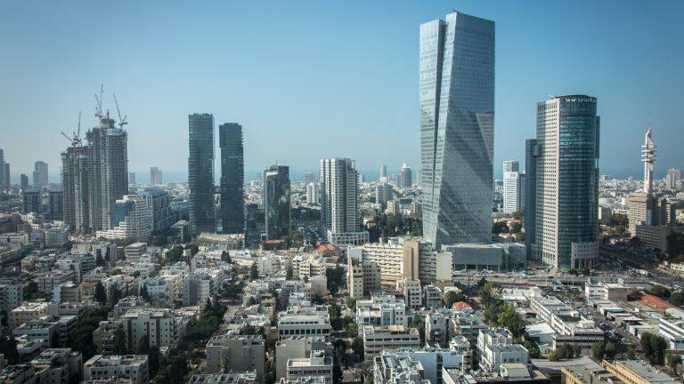 View of Tel Aviv, Isreal.
