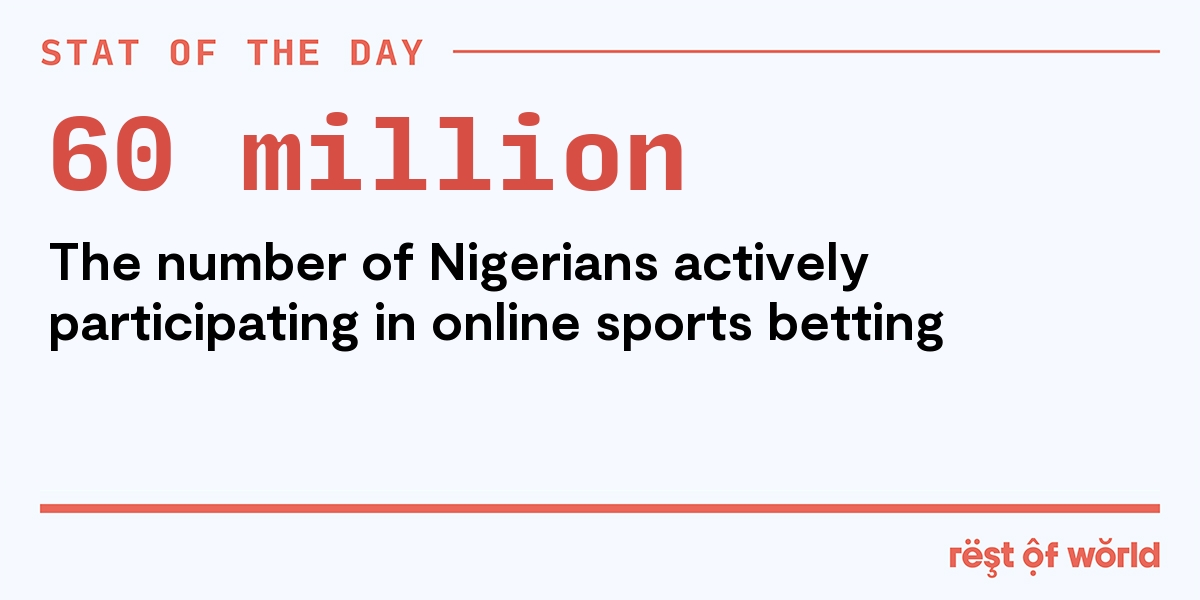 online football betting in nigeria conflict